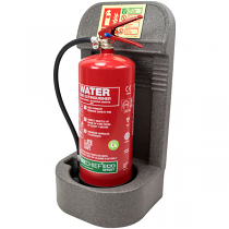 Grey Single Fire Extinguisher Stand