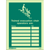 Trained Evacuation Chair Operators 4275
