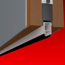 Smoke-Rated Rebated Bottom Door Seal
