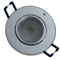 Circular 3W Low Energy Maintained Downlight