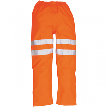 Weatherproof Hi-Vis Orange Trousers - Knee Band