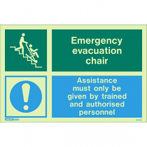 Emergency Evacuation Chair 4036