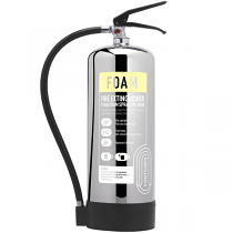 Chrome 9 litre Foam Fire Extinguisher