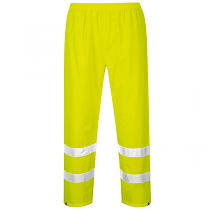 Hi-Vis Yellow Overtrousers