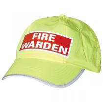 Fire Warden Hi-Vis Cap