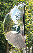 Wide Angle Driveway Mirror