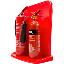 Economy Double Fire Extinguisher Stand